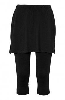 Sportovní legíny se sukní / černá