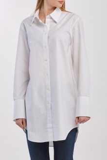 KOŠILE GANT D1. GBP WHITE LONG SHIRT