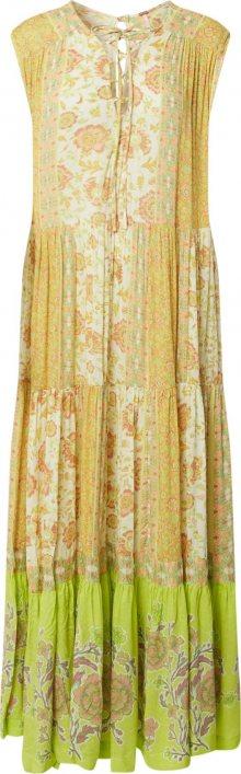 Free People Letní šaty \'HANALEI BAY\' mix barev / žlutá