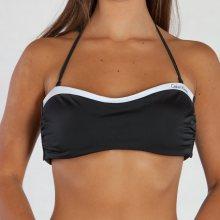 Calvin Klein Plavky Bandeau Černé Vrchní Díl S