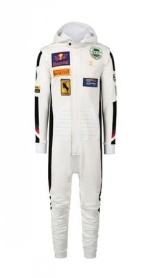 OnePiece Overal Formula White L