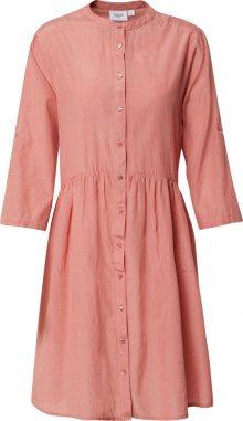 SAINT TROPEZ Košilové šaty \'Carol\' oranžově červená