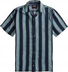 HOLLISTER Košile \'RAYON\' zelená / modrá