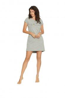 Dámská noční košile FAVOR 38061 šedá M