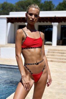 Hugz Plavky Ibiza Sport Bikini Červené M