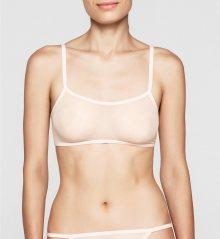 Calvin Klein Podprsenka Sheer Marquisette Tělová M