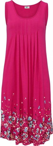 BEACH TIME Letní šaty mix barev / pink
