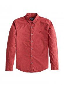HOLLISTER Košile rezavě červená