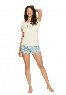 Dámské pyžamo Henderson Ladies 38060 Favor šedá-růžová S
