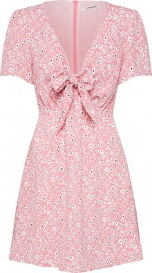 GLAMOROUS Šaty \'KA6343\' pink / bílá