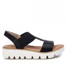 XTi Dámské sandále Black Pu Combined Ladies Sandals 49850 Black 36
