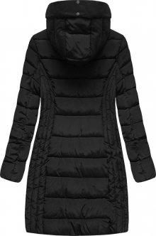 Prošívaná bunda s kapucí (B2619) - S´WEST tmavě modrá L