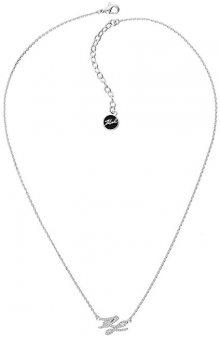Karl Lagerfeld Náhrdelník s třpytivými krystaly KL Script Logo 5512208