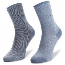 Sada 2 párů dámských vysokých ponožek TOMMY HILFIGER