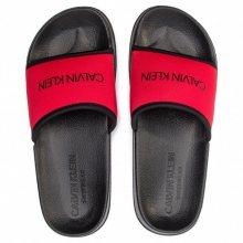 Calvin Klein Pantofle Core Neo Plus Red XS