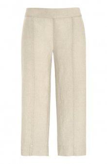 Kalhoty capri / béžová
