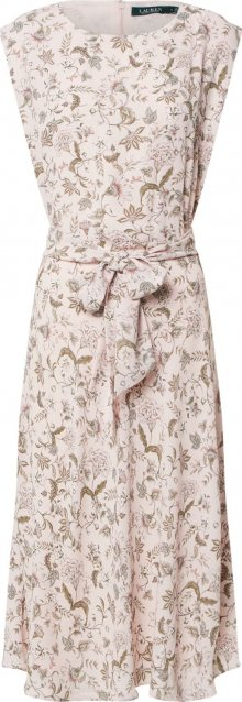 Lauren Ralph Lauren Letní šaty \'VILODIE\' černá / růžová