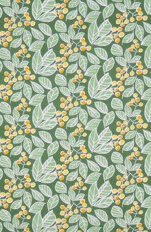 Látka/metrový textil Tess se vzorem / zelená