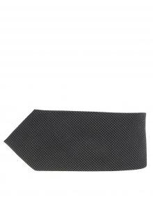Tmavě zelená hedvábná kravata s jemným vzorem Jack & Jones Premium Colombia