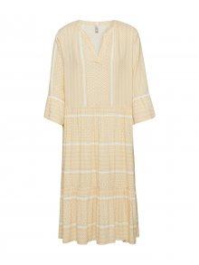 Soyaconcept Košilové šaty žlutá / mix barev