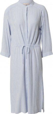 Soft Rebels Košilové šaty \'Allysia\' bílá / světlemodrá