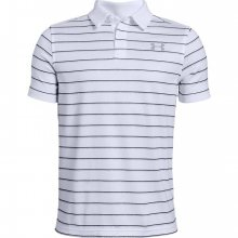 Chlapecké triko s límečkem Under Armour Tour Tips Stripe Polo