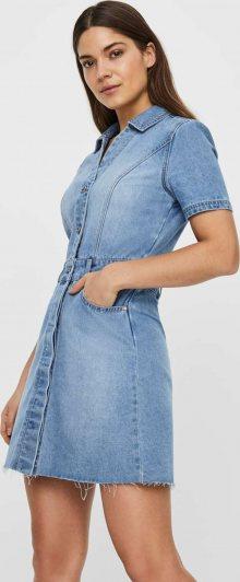 Noisy may Košilové šaty \'NMLISA\' modrá
