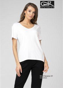 Dámská halenka Gatta 42492S Shirt Serano bílá S