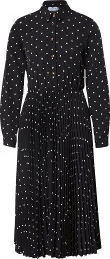 Closet London Košilové šaty \'Closet Pleated Shirt Dress\' černá