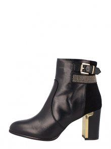 Roberto Botella Dámská kotníčková obuv M14800_NEGRO