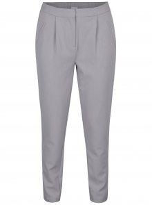 Světle šedé kalhoty s kapsami VILA Rena