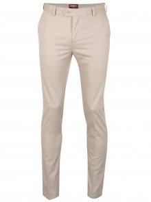 Béžové chino kalhoty Merc