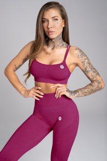 Gym Glamour Podprsenka Seamless Jelly Berry XS