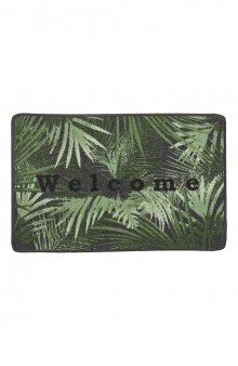 Rohožka s palmovými listy / zelená