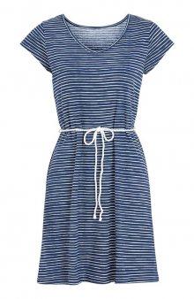 Pruhované plážové šaty / modrá/proužky