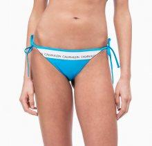 Calvin Klein Plavky CK Logo Maldive Blue Spodní Díl M