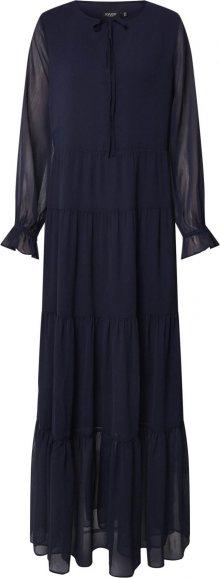 SOAKED IN LUXURY Košilové šaty \'SLAllegra Maxi Dress\' tyrkysová