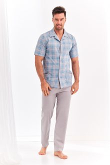 Pánské pyžamo 954 GRACJAN 2XL-3XL šedá 3XL