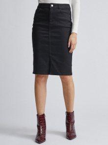 Černá džínová sukně Dorothy Perkins