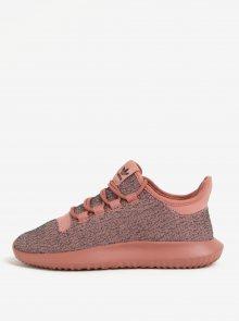 Šedo-růžové dámské tenisky adidas Originals Tubular Shadow