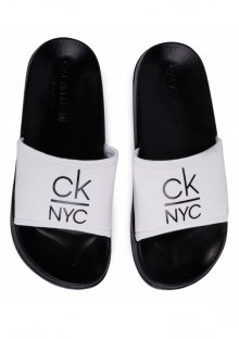 Pantofle Calvin Klein KW0KW01054 37/38 Bílá