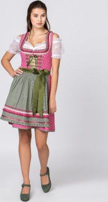 STOCKERPOINT Dirndl \'Martina\' pink / olivová