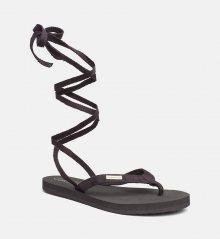 Calvin Klein Wrap Slipers Black XS