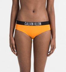 Calvin Klein Plavky Bikini Intense Power Oranžové Spodní Díl M