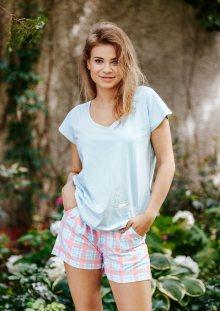Dámské pyžamo LNS 711 A20 modrá XL