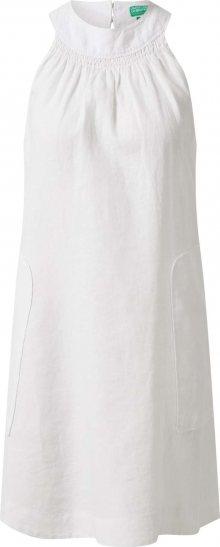 UNITED COLORS OF BENETTON Letní šaty bílá