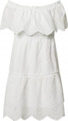 VILA Letní šaty bílá