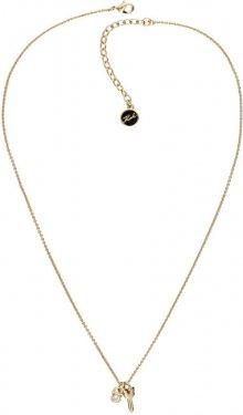 Karl Lagerfeld Pozlacený náhrdelník Lock & Key 5512232