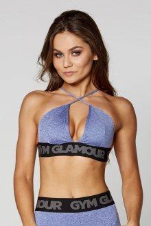 Gym Glamour Podprsenka Purple Sexy String S