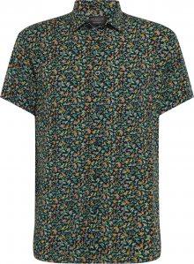 SELECTED HOMME Košile \'REGRASMUS\' trávově zelená / mix barev